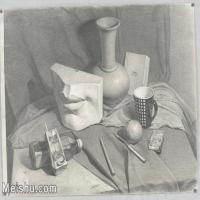 【超顶级】SM-10122900-素描静物美考优秀试卷艺考高分卷铅笔画美术生作品图片下载-159M-8812X6317