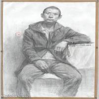 【超顶级】SM-10122578-素描半身艺考美考高分素描半身作品高清图片下载男青年女青年老年人专辑-194M-6948X9760