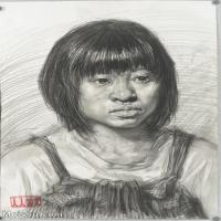 【印刷級】SM-10122755-素描半身藝考美考高分素描半身作品高清圖片下載男青年女青年老年人專輯-87M-4695X6478