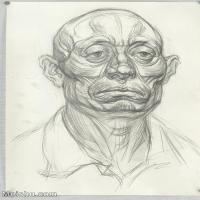 【印刷级】SM-10123125-素描头像美术高考素描优秀试卷八大美院男青年女青年高清图片-92M-4782X6724