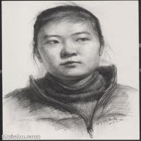 【超頂級】SM-10122605-素描半身藝考美考高分素描半身作品高清圖片下載男青年女青年老年人專輯-149M-6202X8429