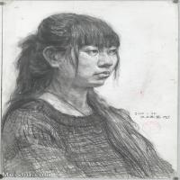 【印刷级】SM-10122565-素描半身艺考美考高分素描半身作品高清图片下载男青年女青年老年人专辑-98M-4999X6886
