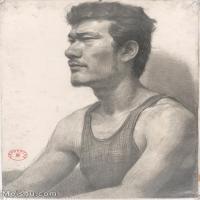 【超顶级】SM-10122690-素描半身艺考美考高分素描半身作品高清图片下载男青年女青年老年人专辑-149M-6282X8312