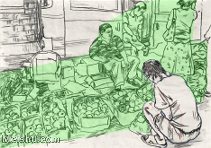 【欣赏级】SM-10123375-场景速写高考人物速写场景作品高清作品姜飞老师速写作品-5M-977X689.jpg