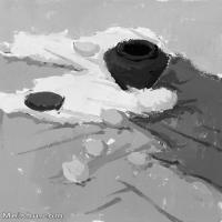 【打印级】SF-10121780-水粉静物美院优秀试卷优秀考生绘画作品艺考高分题库高清图片-9M-2844X4260
