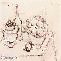 【打印级】SF-10121567-水粉静物美院优秀试卷优秀考生绘画作品艺考高分题库高清图片-27M-2986X2373