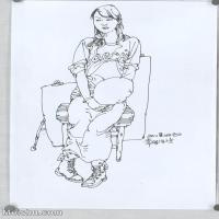 【打印级】SM-10123868-人物速写美术高考人物速写考题模拟试卷高清作品常俊速写高清图片-30M-2760X3836