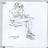 【打印级】SM-10123866-人物速写美术高考人物速写考题模拟试卷高清作品常俊速写高清图片-29M-2760X3789