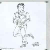 【打印级】SM-10123883-人物速写美术高考人物速写考题模拟试卷高清作品常俊速写高清图片-30M-2783X3792