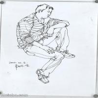 【打印级】SM-10123878-人物速写美术高考人物速写考题模拟试卷高清作品常俊速写高清图片-28M-2627X3804