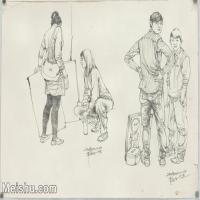 【印刷级】SM-10123382-场景速写高考人物速写场景作品高清作品常俊老师速写作品-94M-6768X4884