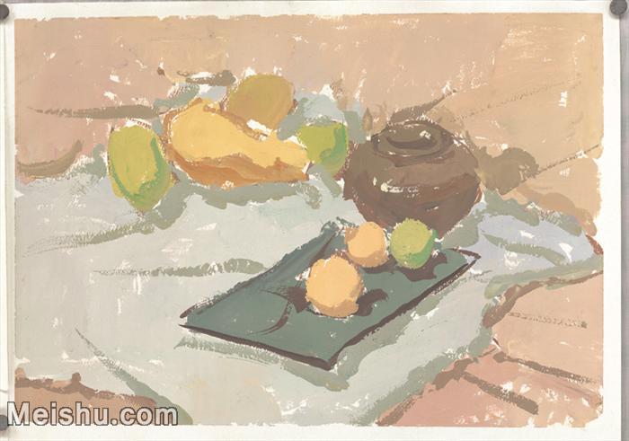 【印刷级】SF-10121339-水粉静物美院优秀试卷优秀考生绘画作品艺考高分题库高清图片-60M-4774X3348.