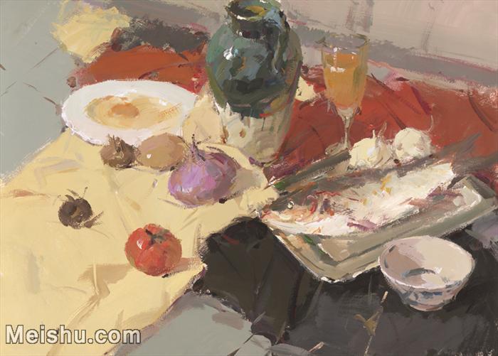 【印刷级】SF-10120965-水粉静物美院优秀试卷优秀考生绘画作品艺考高分题库高清图片-95M-5940X4252.