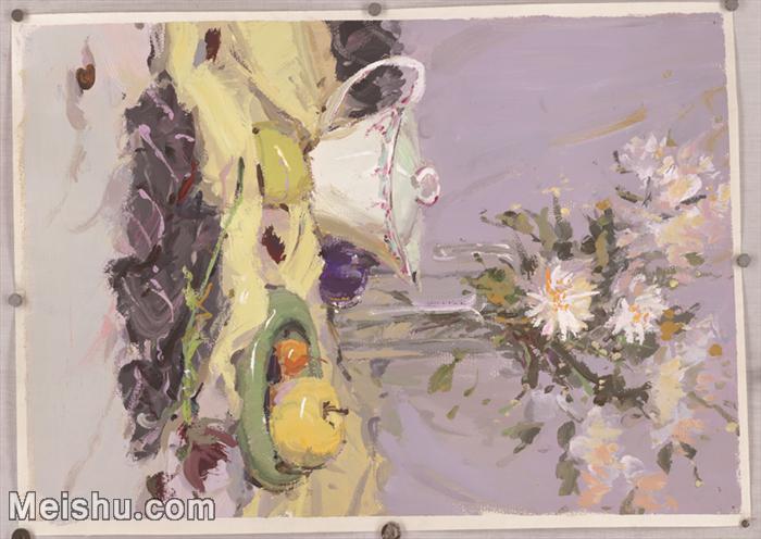 【印刷级】SF-10121386-水粉静物美院优秀试卷优秀考生绘画作品艺考高分题库高清图片-125M-6800X4819