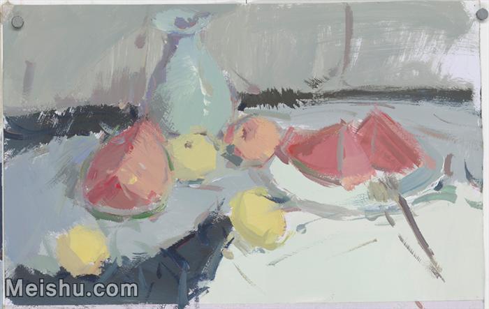 【印刷级】SF-10120761-水粉静物美院优秀试卷优秀考生绘画作品艺考高分题库高清图片-37M-4570X2892.