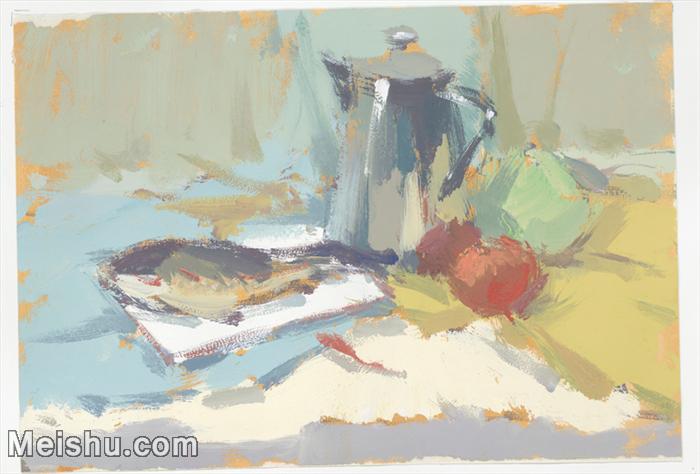 【印刷级】SF-10121081-水粉静物美院优秀试卷优秀考生绘画作品艺考高分题库高清图片-38M-4448X3012.