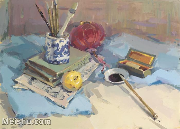 【印刷级】SF-10120798-水粉静物美院优秀试卷优秀考生绘画作品艺考高分题库高清图片-112M-6422X4608