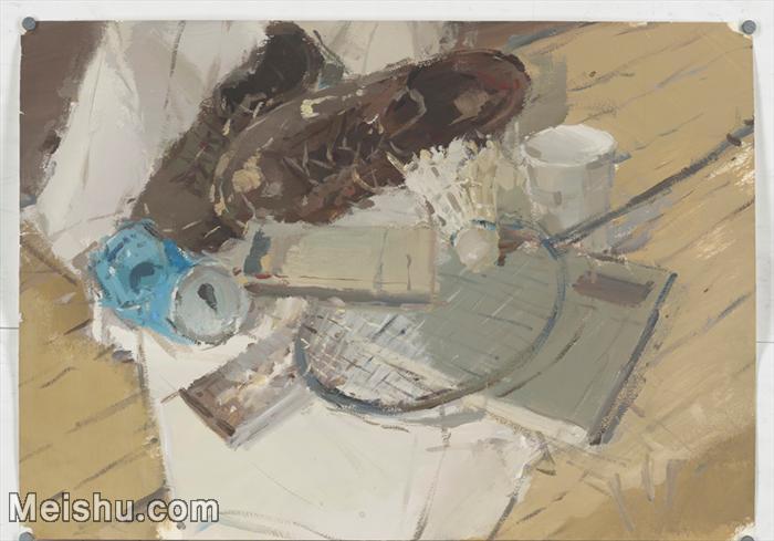 【印刷级】SF-10121136-水粉静物美院优秀试卷优秀考生绘画作品艺考高分题库高清图片-80M-6349X4434.