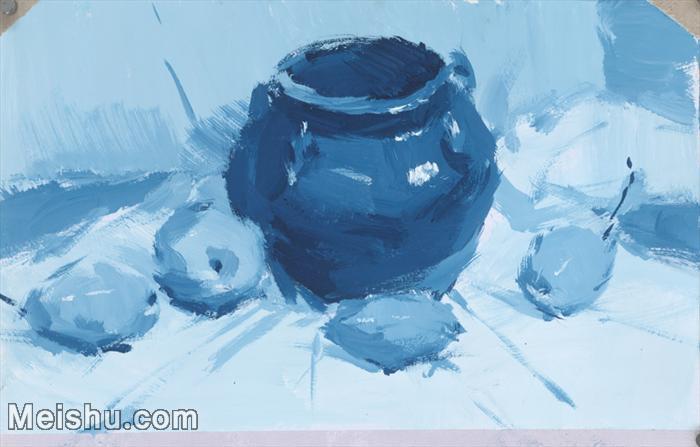 【印刷级】SF-10120827-水粉静物美院优秀试卷优秀考生绘画作品艺考高分题库高清图片-41M-4788X3056.