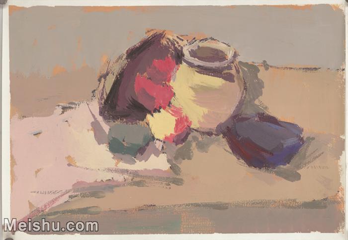 【印刷级】SF-10121268-水粉静物美院优秀试卷优秀考生绘画作品艺考高分题库高清图片-55M-4570X3156.