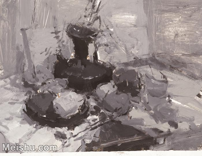 【印刷级】SF-10121345-水粉静物美院优秀试卷优秀考生绘画作品艺考高分题库高清图片-121M-6430X4967