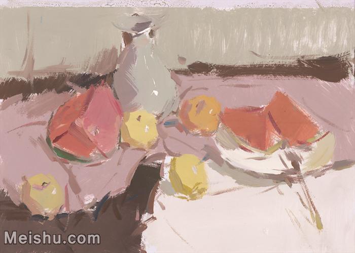 【印刷级】SF-10120696-水粉静物美院优秀试卷优秀考生绘画作品艺考高分题库高清图片-53M-4642X3320.