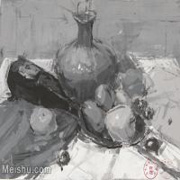 【印刷级】SF-10121689-水粉静物美院优秀试卷优秀考生绘画作品艺考高分题库高清图片-70M-5091X3624