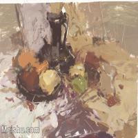 【印刷级】SF-10121346-水粉静物美院优秀试卷优秀考生绘画作品艺考高分题库高清图片-109M-6430X4463