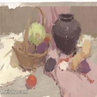 【印刷级】SF-10121358-水粉静物美院优秀试卷优秀考生绘画作品艺考高分题库高清图片-72M-4972X3814