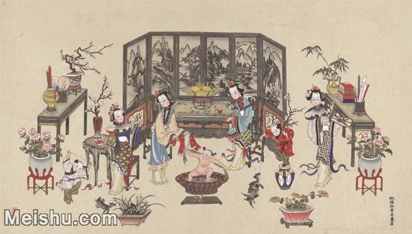 【超顶级】MSH1047民俗画杨柳青年画人物儿童图片-399M-13523X7697_1536906.jpg