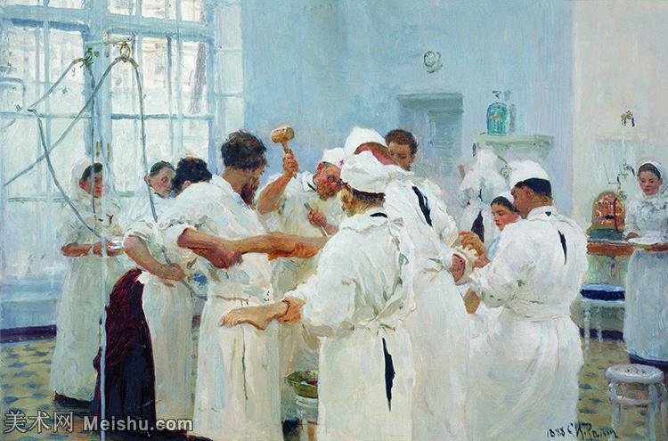 【欣赏级】YHR15105402-列宾Ilya Repin经典油画作品高清图片人物肖像油画作品图片素材写实派画家油画作品