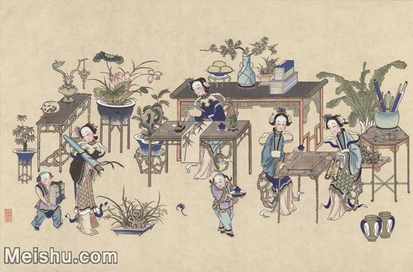 【超顶级】MSH1049民俗画杨柳青年画人物仕女图片-347M-11686X7727_1534359.jpg