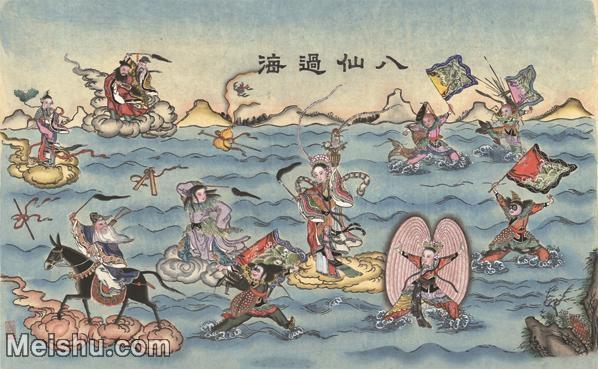 【超顶级】MSH1053民俗画八仙过海杨柳青年画神话图片-296M-12050X7457_1530281.jpg