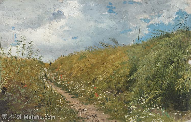 【打印级】YHR15105436-列宾Ilya Repin经典油画作品高清图片人物肖像油画作品图片素材写实派画家油画作品