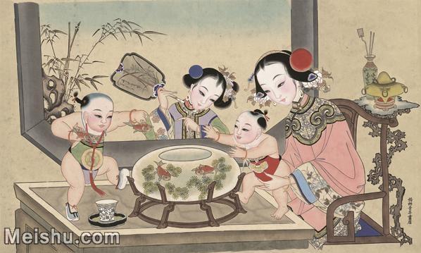 【超顶级】MSH1052民俗画杨柳青年画人物仕女儿童图片-370M-12648X7620_1533859.jpg