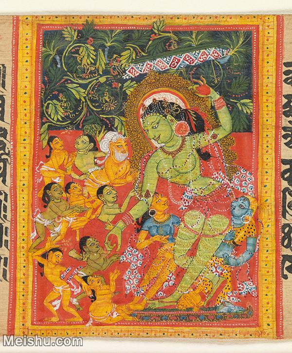 【打印级】YD12159871-印度画异域文化高清晰图片电子文件下载-31M-3001X3625.jpg