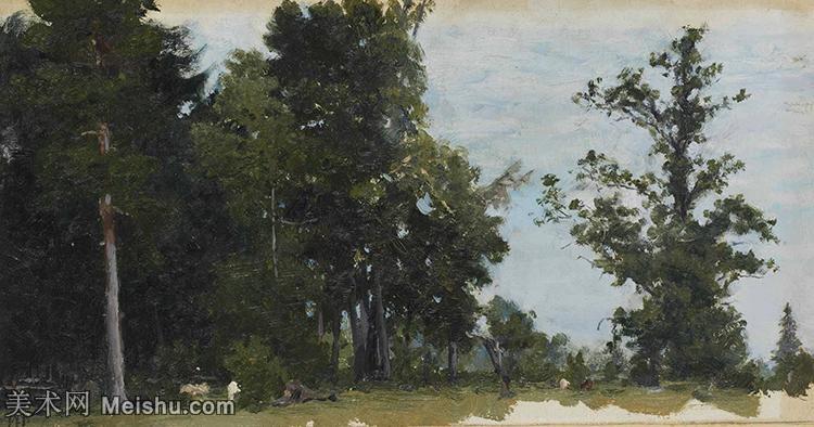 【欣赏级】YHR15105415-列宾Ilya Repin经典油画作品高清图片人物肖像油画作品图片素材写实派画家油画作品