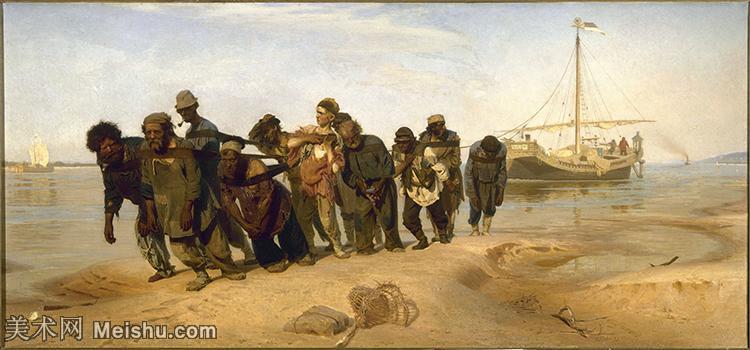 【打印级】YHR15105428-列宾Ilya Repin经典油画作品高清图片人物肖像油画作品图片素材写实派画家油画作品