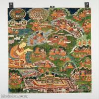 【印刷级】YD12159674-印度画异域文化高清晰图片电子文件下载-87M-4590X6637