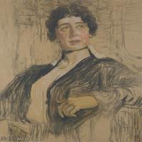【打印级】SMR14154401-俄罗斯画家列宾Ilya Repin手绘素描速写作品图片素描手稿高清图片资料-37M-3318X4000