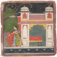 【欣赏级】YD12159709-印度画异域文化高清晰图片电子文件下载-7M-1381X1840