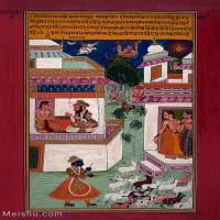 【印刷级】YD12159690-印度画异域文化高清晰图片电子文件下载-47M-3328X5001