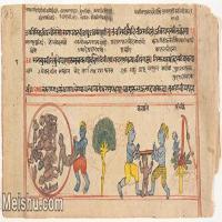 【欣赏级】YD12159767-印度画异域文化高清晰图片电子文件下载-4M-1888X909