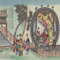 【超顶级】MSH1065民俗画东吴招亲杨柳青年画图片-345M-12027X7468_1550406