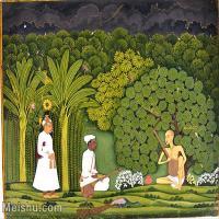 【印刷级】YD12159664-印度画异域文化高清晰图片电子文件下载-43M-4372X3498