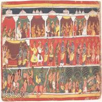 【欣赏级】YD12159722-印度画异域文化高清晰图片电子文件下载-5M-1891X1003
