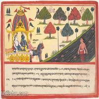 【欣赏级】YD12159765-印度画异域文化高清晰图片电子文件下载-7M-1900X1414