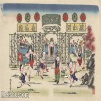 【超頂級】MSH1041民俗畫楊柳青年畫戲曲唱戲洪洋洞圖片-142M-7785X4714_1532328