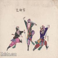 【超頂級】MSH1042民俗畫楊柳青年畫戲曲唱戲大戲圖片-121M-7206X4330_1539437