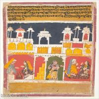 【欣赏级】YD12159717-印度画异域文化高清晰图片电子文件下载-8M-1489X1887
